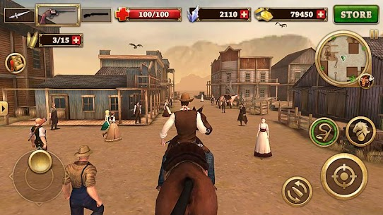 Pistoleiro do Oeste – West Gunfighter [Mod Money] 2