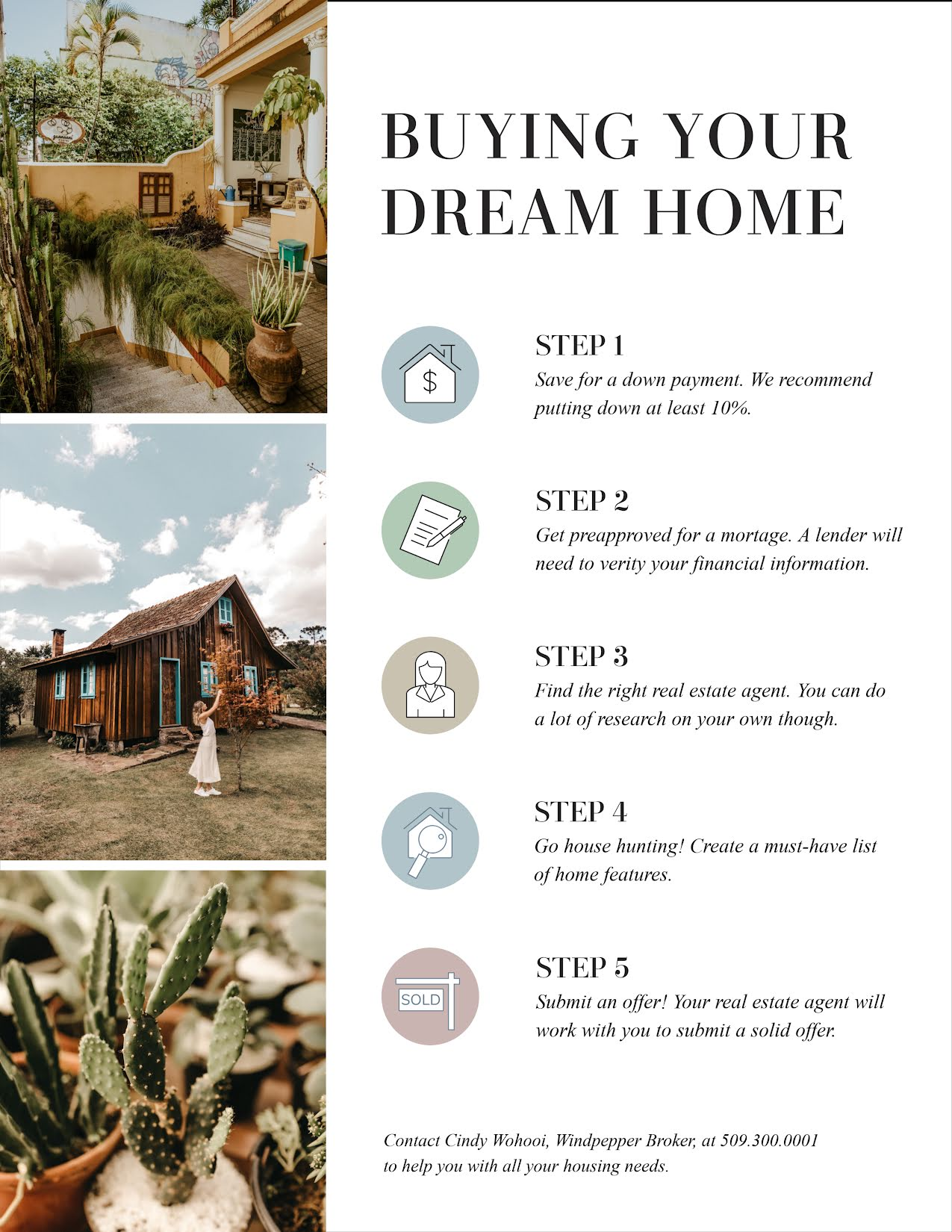 Buying Your Dream Home - Flyer Template