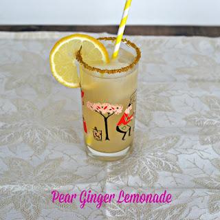Pear Ginger Lemonade.