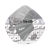 Lost in the city GO Keyboard