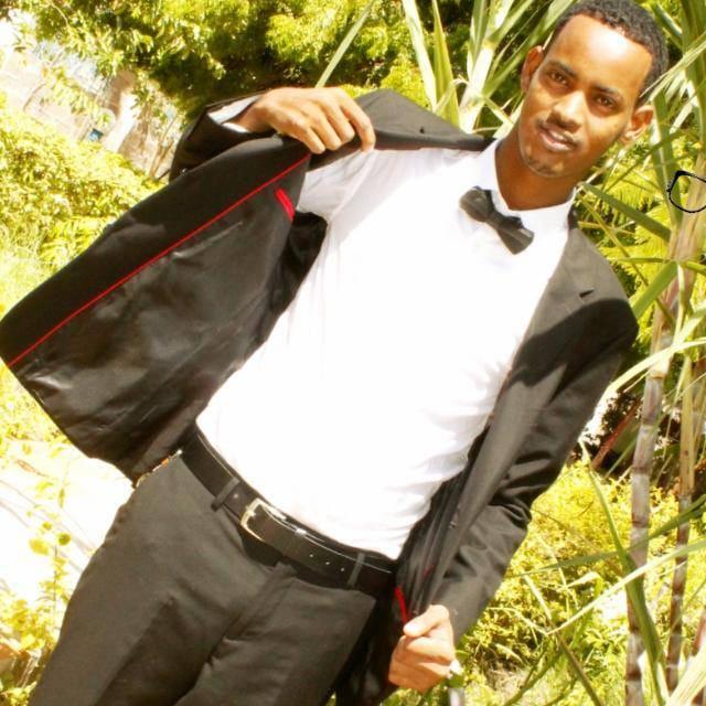 Salan Aden, 22, former student of Waberi Secondry School in Hagadera refugee camp, Dadaab