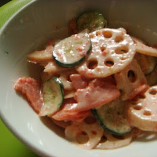 Japanese Lotus Root (renkon) Salad