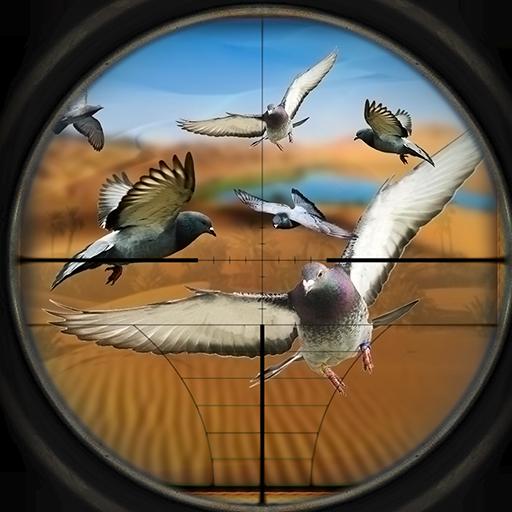 沙漠狙击手间谍鸽子亨特 冒險 LOGO-玩APPs