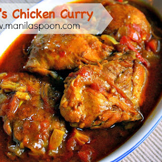 Abby's Chicken Curry