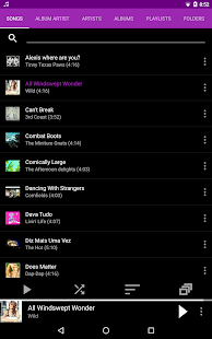 Rocket Music Player Screenshot