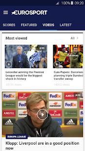 Eurosport Screenshot 4