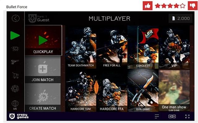 Bullet Force Online Spiele