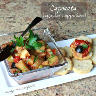 Caponata - Eggplant Appetizer.