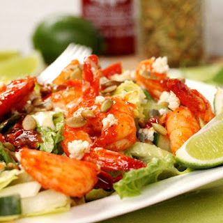 Spicy and Sweet Shrimp Salad