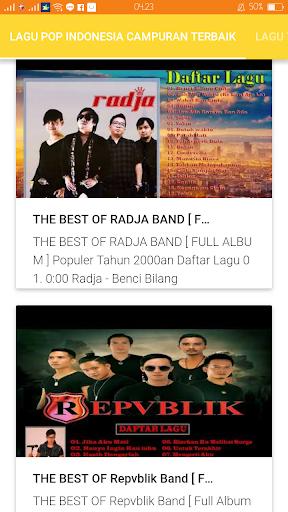Kumpulan Lagu Pop Indonesia Terbaik 1 0 Apk Download Com Wlagupopindonesiacampuranterbaik 6369025 Apk Free