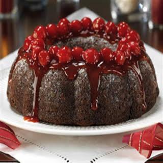 Black Forest Cherry Chocolate Cake.