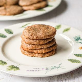 Easy Almond Butter Cookies (Gluten Free, 4 Ingredients).