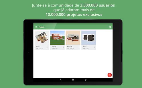 Planner 5d design de interior apps para android no for Planner 5d design d interni