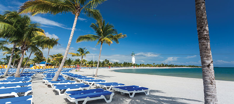 Harvest Caye come with a beach and 2,700 loungers.
