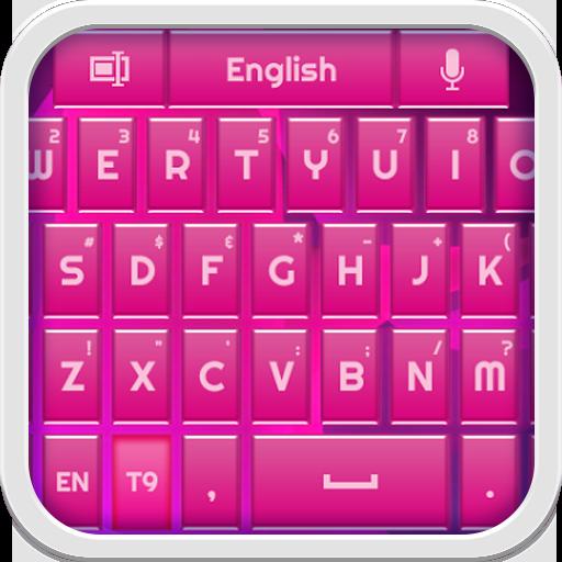 個人化App|Shiny Pink Keyboard LOGO-3C達人阿輝的APP