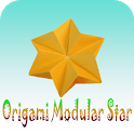 How to make Origami Modular Star icon