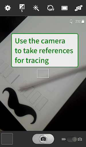 Tracer!  Lightbox tracing app 1.1.9 screenshots 7