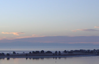 Photo: Nice fog color...Bird Shoal