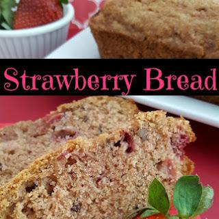 Strawberry Bread.
