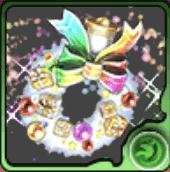 聖夜のパズドラリース【虹】