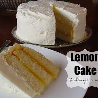 Lemon Cake From White Cake Mix Recipes.