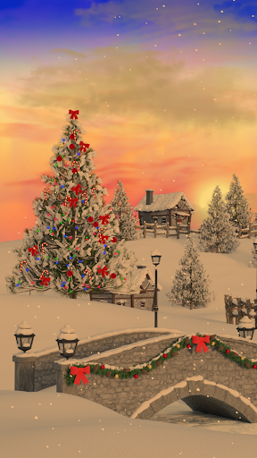 Christmas Village Live Wallpaper screenshot 3