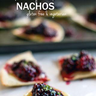 Gluten Free Blackberry Basil Nachos