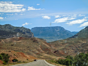 Photo: About to enter the Bighorns via route 14