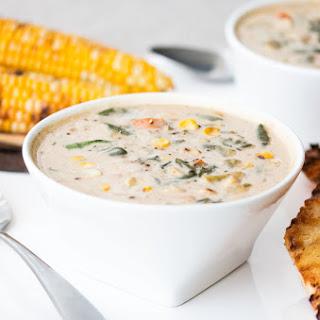 Roasted Corn Chowder →