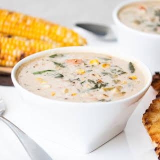 Roasted Corn Chowder →.