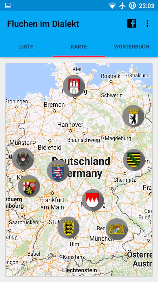 Fluchen im Dialekt - Android-Apps auf Google Play