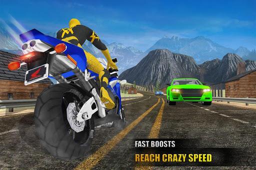 Super Hero Bike Racing Games : Endless 3D