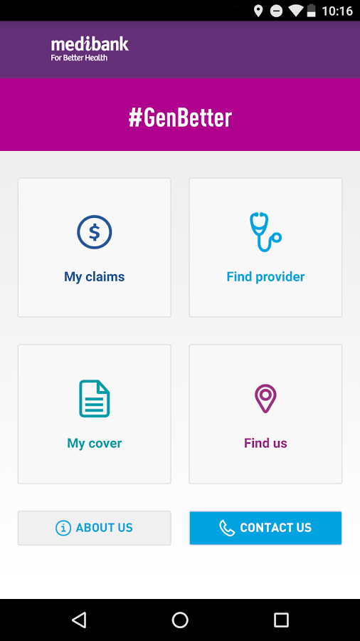 Medibank Mobile- screenshot