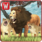 Wild Lion Adventure Simulator