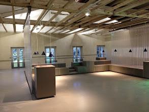 Photo: La rampe de l'espace Atelier