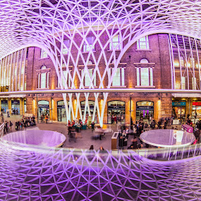 Kings Cross by Dimitri Foucault - Buildings & Architecture Architectural Detail ( london, pwcdetails, kings, cross )