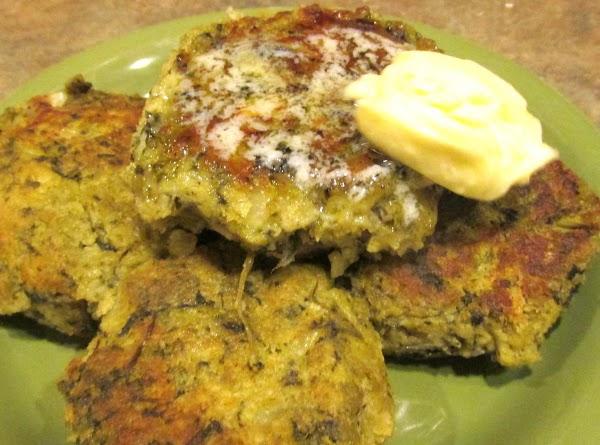 Spinach Potato Pancakes/colcannon Cakes Recipe