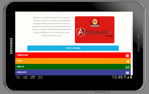 Learn Offline AngularJs Course- screenshot thumbnail