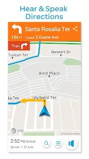 AT&T Navigator: Maps, Traffic screenshot 02