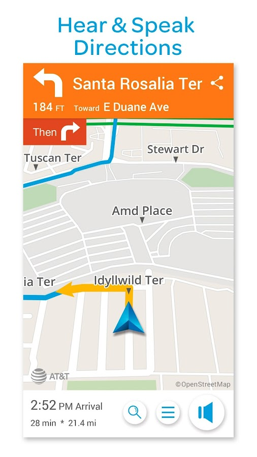 AT&T Navigator: Maps, Traffic- screenshot