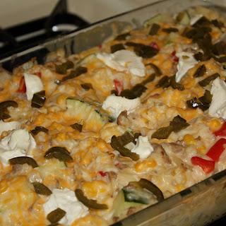 Cheesy Baked Rice Casserole
