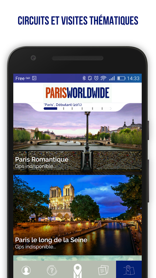Paris Worldwide - City Guide – Capture d'écran