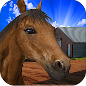 Farm Horse  Derby Racing Game