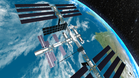 Iss position tracker 3d android apps on google play for Space station 13 3d
