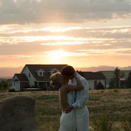 Country Wedding by Roberta Lott-Holmes - Wedding Bride & Groom ( wedding, colorado, bride groom,  )