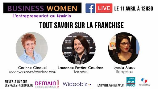 La femme et la franchise; business Women