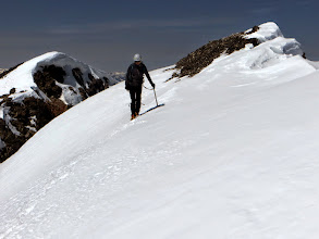Photo: Last few steps to the summit.