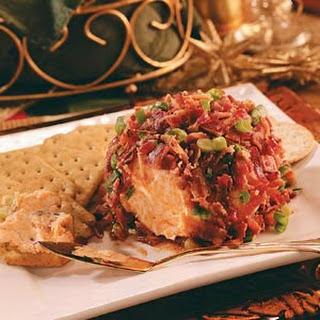 Chutney-Bacon Cheese Ball.