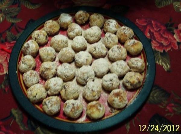 Pecan Cinnamon German Drop Cookies Recipe