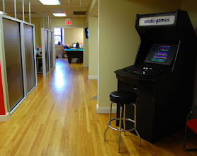 Photo: Our wedu-branded arcade